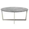This item: Llona Black 36-Inch Round Coffee Table