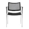 This item: Vahn Black 23-Inch Visitor Chair, Set of 2