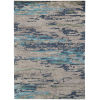 This item: Abstract Beige Wool Rectangle 4 Ft. x 6 Ft. Rug