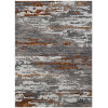This item: Abstract Gray Wool Rectangle 5 Ft. x 8 Ft. Rug
