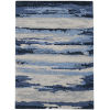 This item: Abstract Blue Rectangle 9 Ft. x 13 Ft. Rug