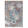 This item: Alexandria Gray Machine-Made Rectangle 5 Ft. 1 In. x 7 Ft. 6 In. Rug