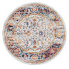 This item: Alexandria Ivory Machine-Made Round 6 Ft. 7 In. x 6 Ft. 7 In. Rug