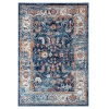 This item: Alexandria Navy Rectangle 4 Ft. x 6 Ft. Rug
