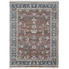 This item: Arcadia Red Rectangle 7 Ft. 1 In. x 10 Ft. Rug