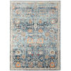 This item: Bohemian Blue Polypropylene Turkey Rectangle 7 Ft. 9 In. x 9 Ft. 9 In. Rug