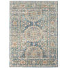 This item: Bohemian Denim Blue Rectangle 8 Ft. 9 In. x 11 Ft. 9 In. Rug