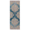 This item: Eternal Turquoise Blue Runner 2 Ft. 7 In. x 7 Ft. 6 In. Rug