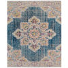 This item: Eternal Turquoise Blue Rectangle 3 Ft. 11 In. x 5 Ft. 11 In. Rug