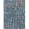 This item: Perla Blue Rectangle 7 Ft. 6 In. x 9 Ft. 6 In. Rug