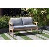 This item: Amazonia Teak Patio Two-Seater Sofa