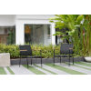 This item: Amazonia Teak Deluxe Stacking Sofa Chairs, Set of 2