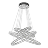This item: Galaxy Polished Chrome LED Chandelier