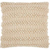 This item: Life Styles Woven Stripes Beige 20 In. Throw Pillow
