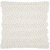 This item: Life Styles Woven Stripes White 20 In. Throw Pillow
