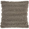This item: Life Styles Woven Stripes Silver Grey 20 In. Throw Pillow