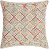 This item: Life Styles Tile Stonewash Multicolor 20 In. Throw Pillow