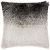 This item: Shag Illusion Shag Black and Silver 20 In. Throw Pillow