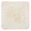This item: Shag Yarn Shimmer Shag Cream 20 In. Throw Pillow