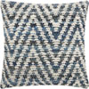 This item: Life Styles Woven Denim Chevron Denim 20 In. Throw Pillow