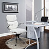 This item: Escape Mid Back Office Chair in White
