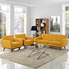 This item: Engage Armchairs and Loveseat Set of 3 in Citrus