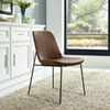 This item: Invite Dining Side Chair in Brown
