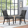 This item: Regent Fabric Dining Chair in Gray
