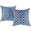 This item: Two Piece Outdoor Patio Pillow Set in Balance