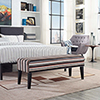 This item: Connect Wood Bench in Stripe