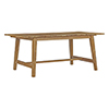This item: Dorset Outdoor Patio Teak Dining Table in Natural