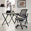 This item: Edge Vinyl Office Chair in Gray