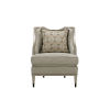 This item: Harper Rose Beige 26-Inch Accent Chair