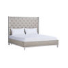 This item: Anna Charlotte Gray Upholstered Queen Bed
