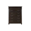 This item: Lawrence Anabel Dark Cherry Tall Chest