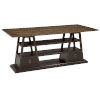 This item: American Chapter Rye and Makers 72-Inch Apiary Hall Flip-Top Console Table