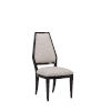 This item: Prossimo Walnut and Brown 42-Inch Side Chair, Set of Two
