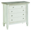 This item: Summer Creek Scrubbed Oak and Harbor White 42-Inch Echo Lake Accent Chest