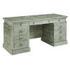 This item: Summer Creek Scrubbed Oak 66-Inch Kennebunkport Office Credenza