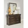This item: Landmark Mocha 47-Inch Carved Mirror