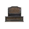 This item: Landmark Mocha 85-Inch King Mansion Bed