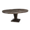 This item: Landmark Mocha 55-Inch Round Dining Table