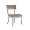 This item: La Scala Ivory 35-Inch Klismos Side Chair, Set of Two