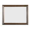 This item: Kingsport Medium Oak 48-Inch Bevel Mirror