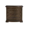 This item: Kingsport Medium Oak 31-Inch Three-Drawer Nightstand