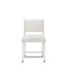 This item: Epicenters 33127 Upholstered Gloss White 38-Inch Leia Counter Chair