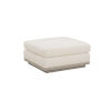 This item: Epicenters 33127 Upholstered Gray Wash 34-Inch Cruz Ottoman