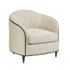This item: Prossimo Pizzo 32-Inch Curva Perla Matching Chair