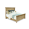 This item: Roseline King Isla Panel Bed