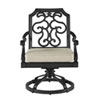 This item: Arch Salvage Outdoor Gabrielle Swivel Dining Rocker, Set of Two